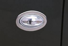 Peugeot Traveller 2017↗ рр. Обведення поворотника OmsaLine (2 шт., нерж)