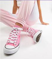Кеды Конверсы Taylor ALL STAR Розовые высокие 36-45 размеры Вьетнам, фото 1