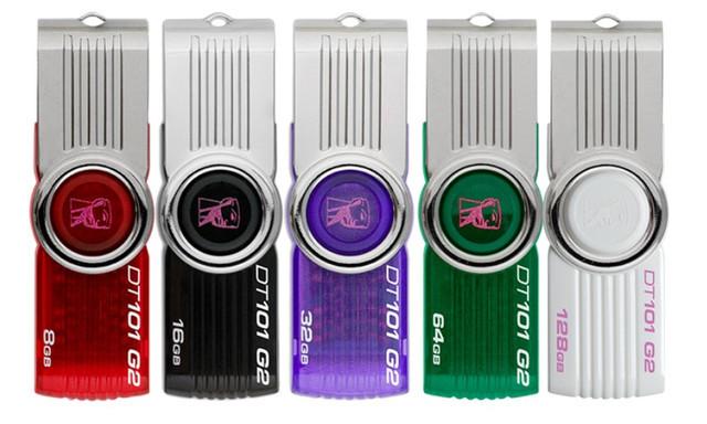 Флеш-накопитель USB 64Gb Kingston DT101 Черный
