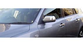 Mazda 2 2003-2007 рр. Накладки на ручки (4 шт, нерж)