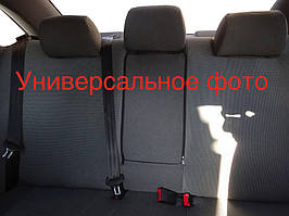 Skoda Rapid 2012↗ рр. Авточохли (тканинні, Classik)