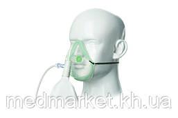 Маска Intersurgical EcoLite для кислородной подушки или концентратора для взрослых с мешком