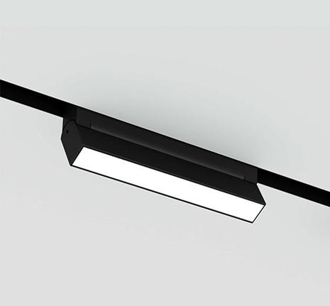 Поворотний світильник на магнітну шину LED 20W 48V DC