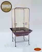 Вольер для крупных попугаев A16 (Золотая клетка) 59х59х152 см