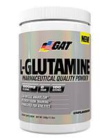 GAT® Аминокислота GAT Glutamine, 500 gr.Повышает уровень гормона роста.Подавляет распад мышечных клеток