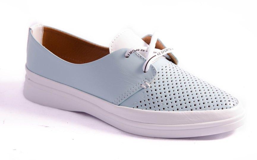 Туфли женские голубые Gloria 23005/1-5