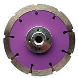 241 Диск Сraft алм. segment cutter  125/3*M14*2*10 мм. Штроборіз (3 диска), фото 2
