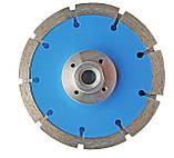 141 Диск відрізний алмазний segment cutter 125/2 * М14 * 1,6 * 10мм, Штроборіз (2 Диска), фото 2