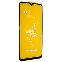 Стекло 6D Xiaomi Redmi 9 - защитное, premium