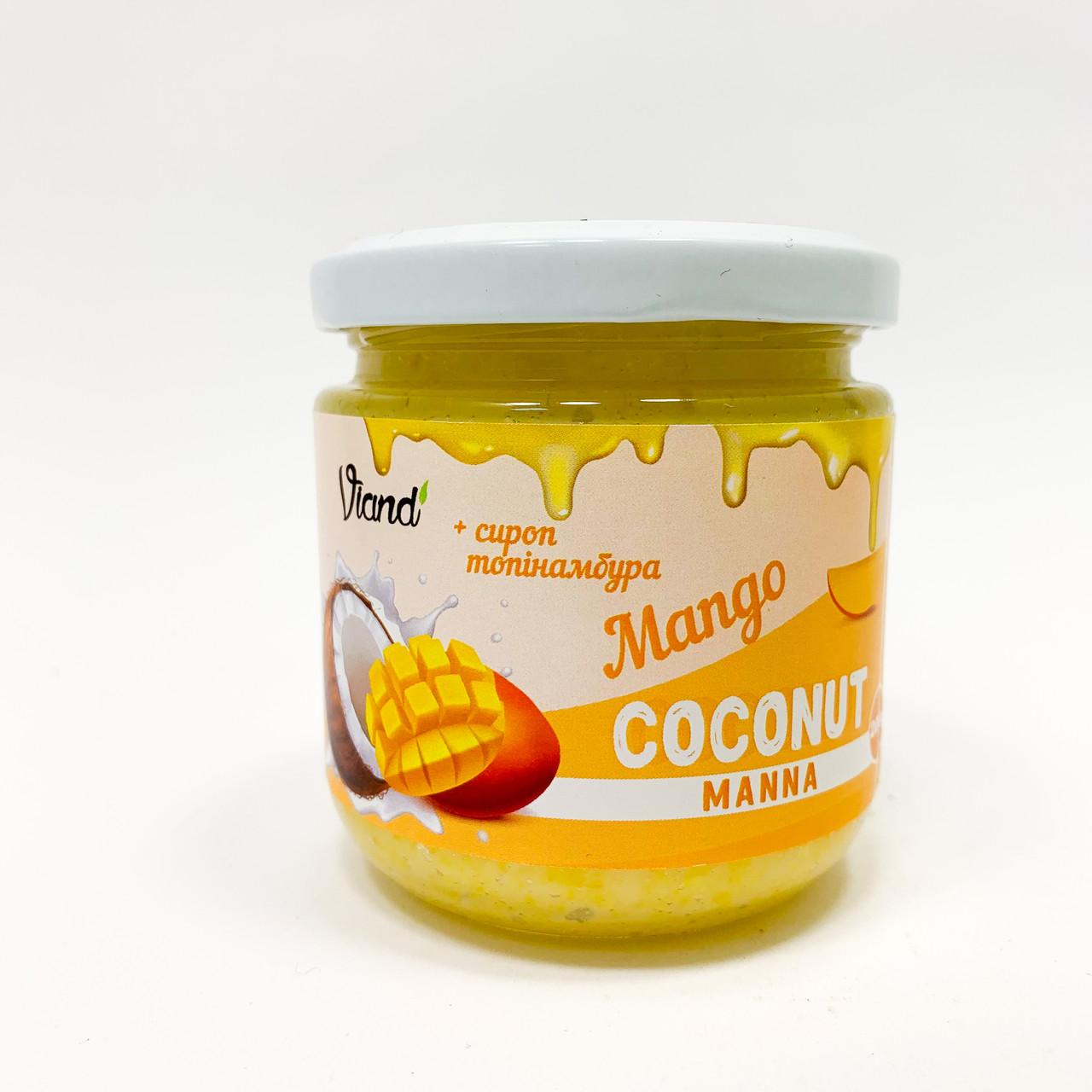 Кокосовая паста Viand с манго и сиропом топинамбура 200 г