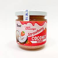 Кокосовая паста Viand с клубникой и сиропом топинамбура 200 г, фото 1