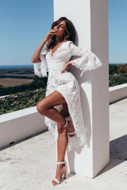 Пляжное кружевное платья Lady New Look