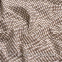 Лоскут корейской костюмной мелкая гусиная лапка 5мм бежевая