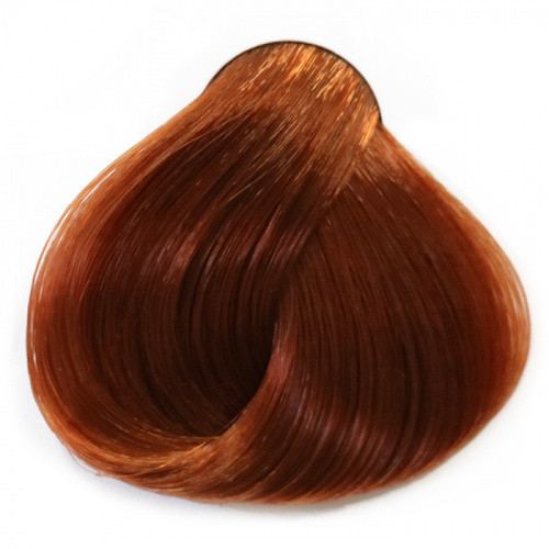 Стойкая крем-краска с маслом аргана и кератином 100мл 6.35 темный блондин паприка