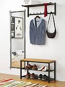 Полки для обуви, вешалки и прихожие металлические