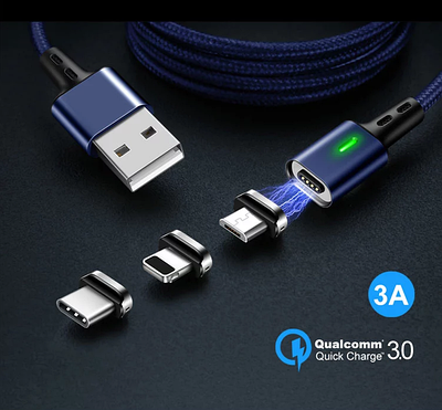 Магнитные USB кабеля