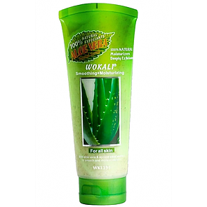 Скраб для лица Wokali Smoothing Moisturizing Aloe Vera 120 мл