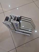 Трехстворчатое окно OpenTeck Elit с двумя открываниями, фото 3