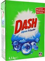Порошок для стирки универсальный Dash Alpen Frische 6.5кг