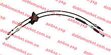 Тросы переключения передач 1.2i 8v-1.9D-1.3MJTD 16v-1.9JTD-1.9MJTD Doblo 2000-2016 Код. 46806267, 46807039