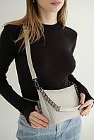 Женская сумка Луна экокожа 27*16*7 см серый 62221