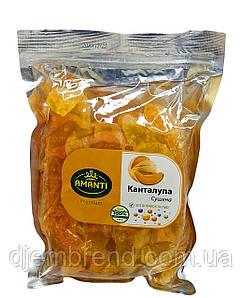 Сушена диня Канталупа, без цукру та домішок, ТМ Аманти, 500 г