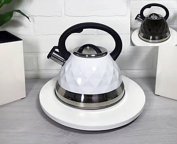 Красивый чайник для плиты Maestro 3л