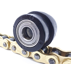 Ролик натяжителя цепи квадроцикла мотоцикла с подшипником D10/34мм, фото 2