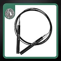 Оригінальна швидкісна скакалка Way4you сталева з підшипниками 3 мЧорний (w40039)