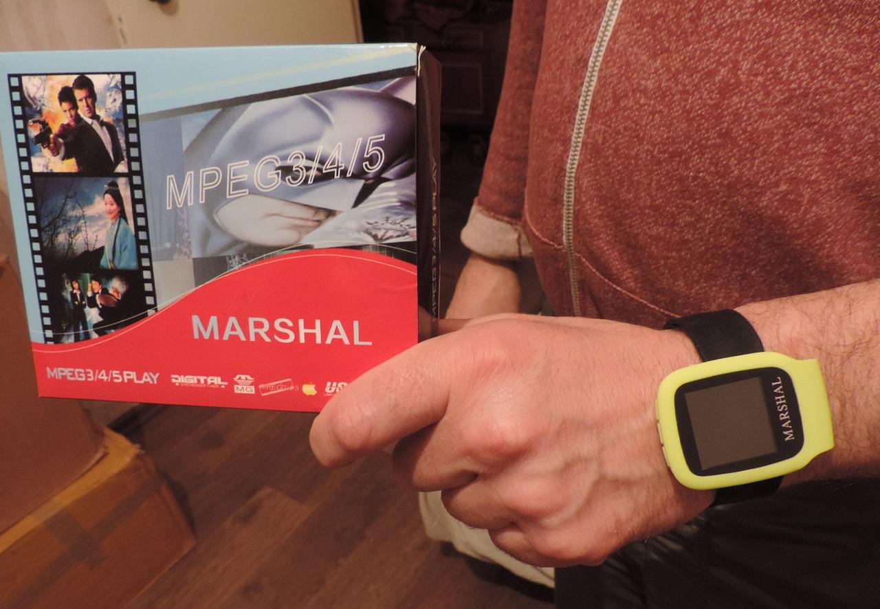 """Мультиплеер """"Marshal"""" Vip класса - MP3, МР4, MP5, FM-радио. Видео и музыка"""