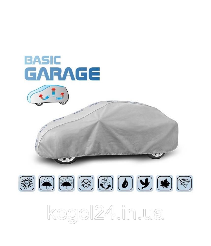 """Чохол-тент для автомобіля """"Basic Garage"""" розмір M Sedan ОРИГІНАЛ! Офіційна ГАРАНТІЯ!"""