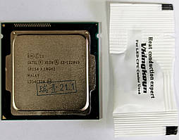 Процессор Intel Xeon E3-1220 v3 4 ядра 3.1 Ghz (3.3-3.5 turbo) сокет 1150 i5 4570 б/у
