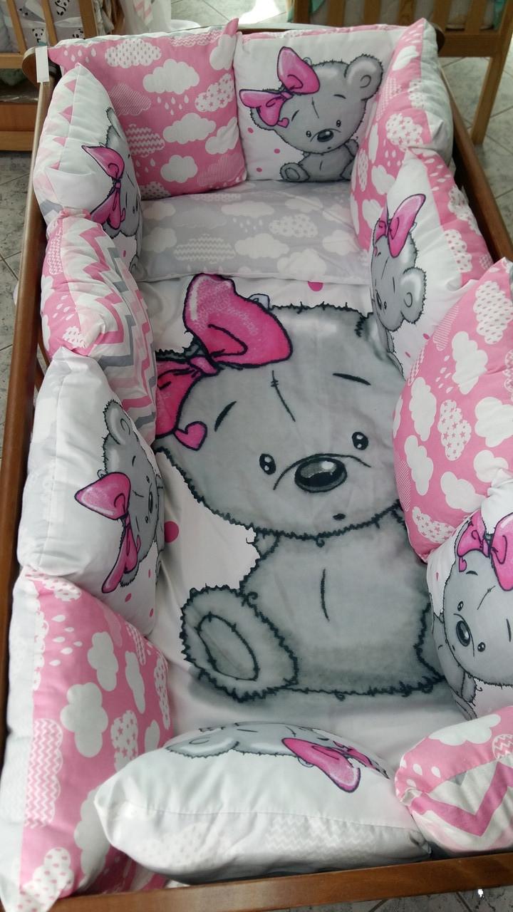 """Дитячий постільний комплект """"My Teddy"""", Дитячий комплект в ліжечко, Дитяче постільна білизна"""