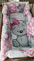 """Дитячий постільний комплект """"My Teddy"""", Дитячий комплект в ліжечко, Дитяче постільна білизна, фото 1"""