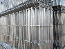 Парканна секція 2180ммх2500мм Оцинкований дріт 4/4 мм, фото 2