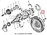 236-1005127-А Болт М16х1,5 кріплення махововика ЯМЗ 236, 238 (L=57мм) (пр-во ЯМЗ), фото 3