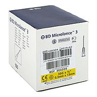 Голки для мезотерапії та озонотерапії 0,3 х 13 стерильні (30G) BD Microlance