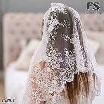 Свадебный палантин Цветочная роспись, фото 3