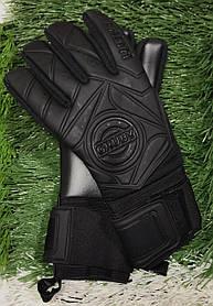 Перчатки вратарские GRUBY Стелс черные размер  [10]