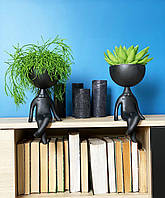 Фигура Кашпо Kelly Boy с живыми растениями К4