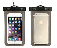 Водонепроницаемый чехол Savephone для мобильных телефонов Черный
