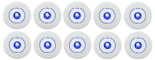 Фото: кнопки виклику персоналу RECS R-103 - 10 штук - комплект системи виклику RECS №69