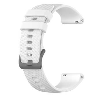 Силіконовий ремінець Primolux для смарт-годинника Garmin Vivoactive 4S - White