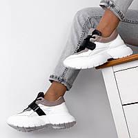 Кросівки жіночі замшеві бежеві, фото 1