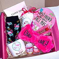"""Подарочный бокс для для девушки Wow Boxes """"Flamingo Box #2"""""""