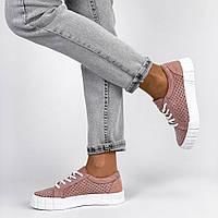 Кеді,кросівки жіночі розові,літні, фото 1