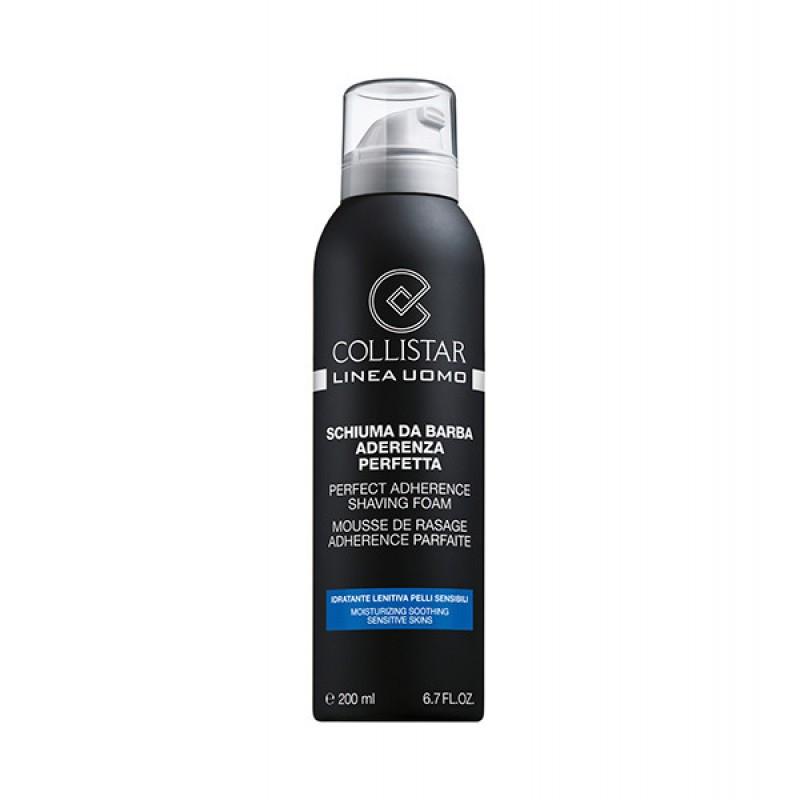 Піна для гоління чутлива шкіра COLLISTAR PERFECT ADHERENCE SHAVING FOAM, SENSITIVE SKINS 200 мl