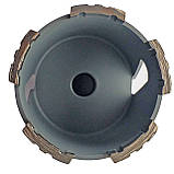 172 Коронка Craft  алмазна turbo segment, Ø 72 мм, з хвостовиком та свердлом SDS Бетон 5 сегменти, фото 2