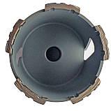182 Коронка Craft алмазна turbo segment, Ø 82 мм, з хвостовиком та свердлом SDS Бетон 5 сегменти, фото 2