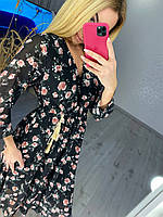 Воздушное летнее женское платье, фото 1